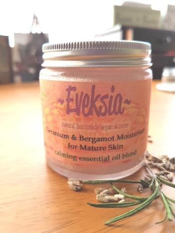 Geranium and Bergamot moisturiser