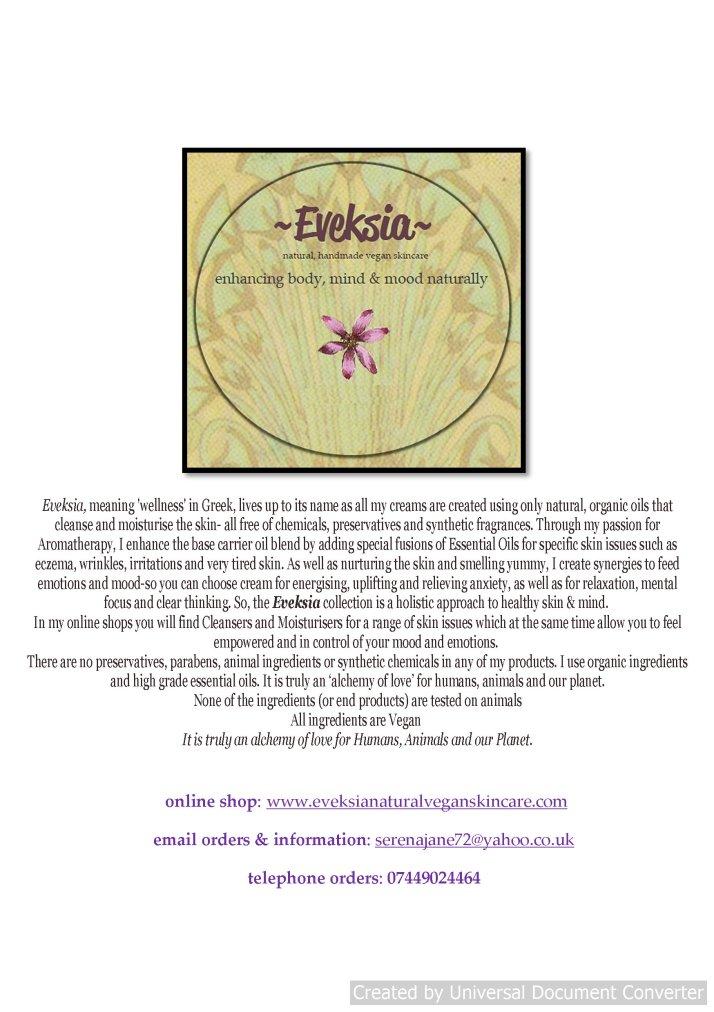 Eveksia information leaflet