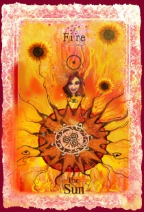 Minor Arcana Fire Element sun copy